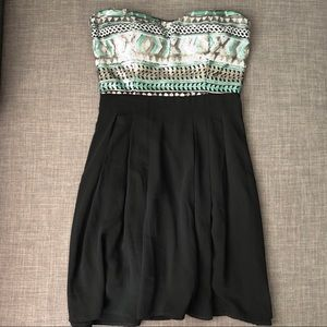 Forever 21 sequin top dress
